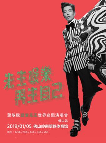 萧敬腾娱乐先生世界巡回演唱会佛山站