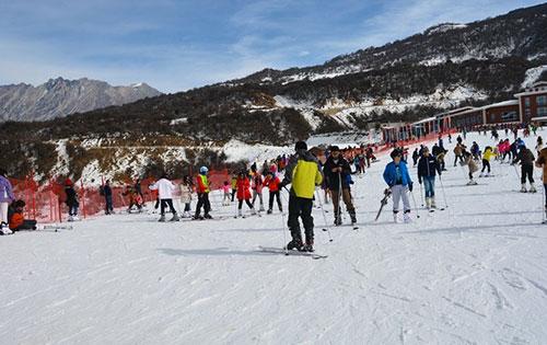 九鼎山太子岭滑雪场