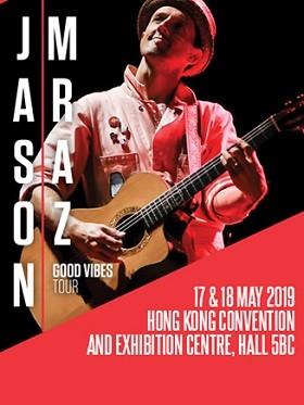 JASON MRAZ GOOD VIBES TOUR香港站