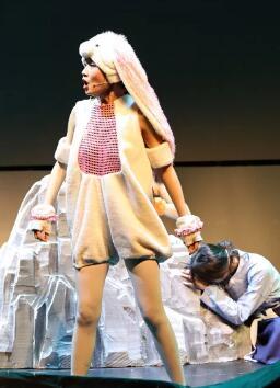 儿童舞台剧《长耳朵与智慧壳之弯弯上古船》唐山站
