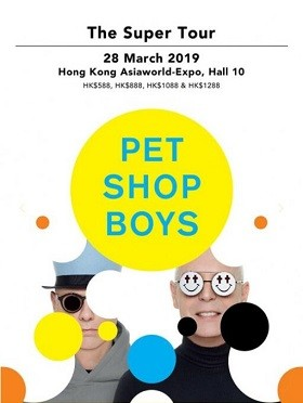 PET SHOP BOYS THE SUPER TOUR香港站
