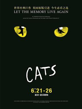 2019年世界经典原版音乐剧《猫》CATS ―武汉站