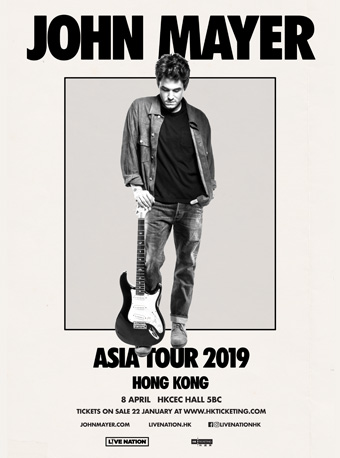 John Mayer香港演唱会