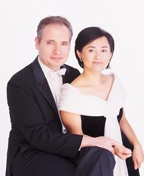 叶绿娜魏乐富双钢琴深圳音乐会