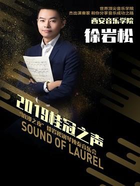 """2019桂冠之声--""""浪漫之夜""""徐岩松钢琴独奏音乐会-合肥站"""