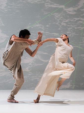 双舞作《白水》《微尘》广州站
