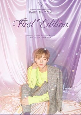 "PARK JIHOON 2019 ASIA FAN MEETING IN MACAU""FIRST EDITION""澳门站"