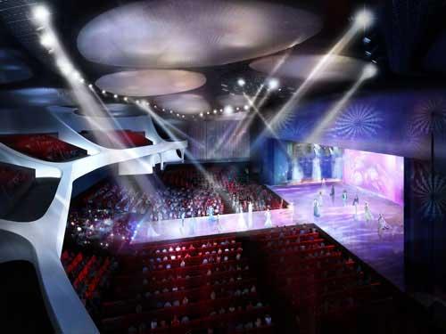 上海喜玛拉雅艺术中心大观舞台