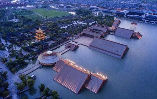 上海�V富林文化�z址