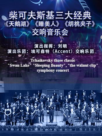 柴可夫斯基三大经典《天鹅湖》《睡美人》《胡桃夹子》广州交响音乐会