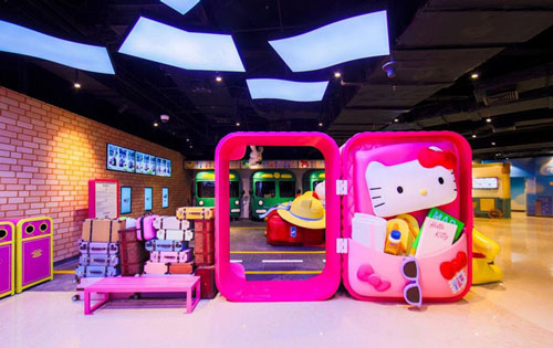 世茂Hello Kitty上海��r光之旅