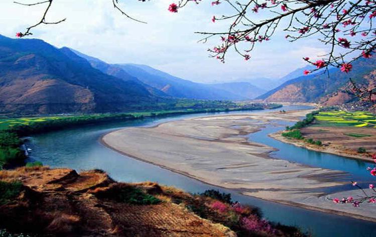 金沙江三谷水景区