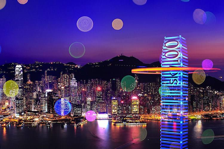 香港天际100观景台