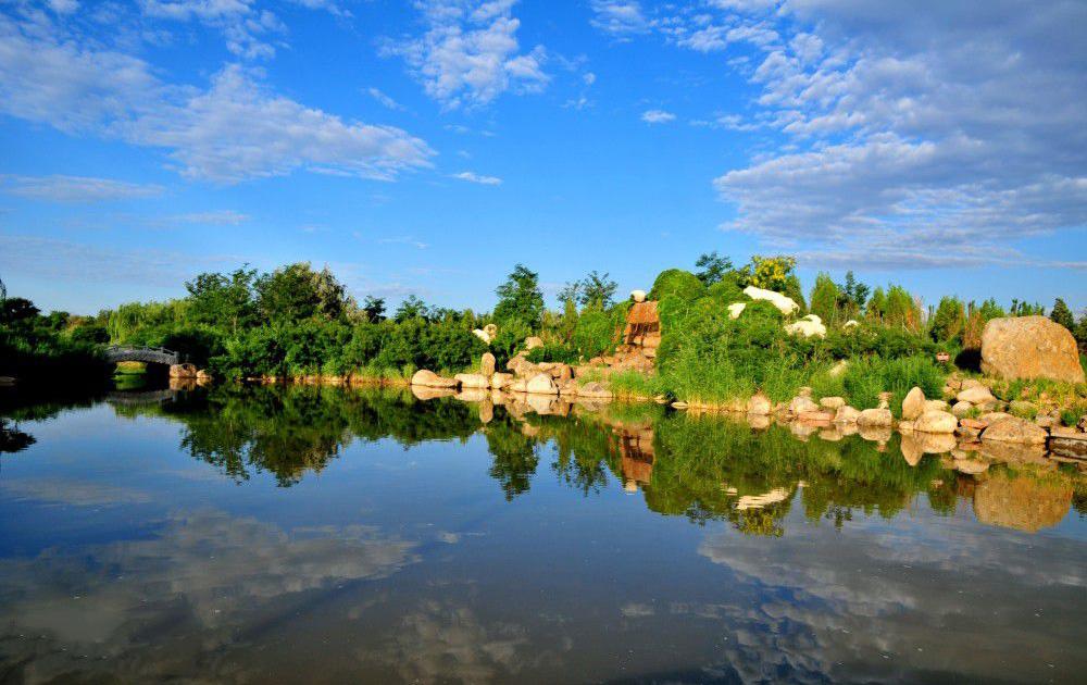 银川鸣翠湖