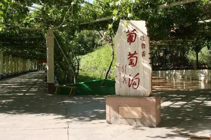 吐�番葡萄�巷L景�^