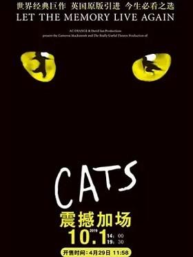 音乐剧《猫》CATS海口站