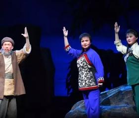 庆祝中华人民共和国成立70周年戏曲节大型现代京剧《党的女儿》唐山站