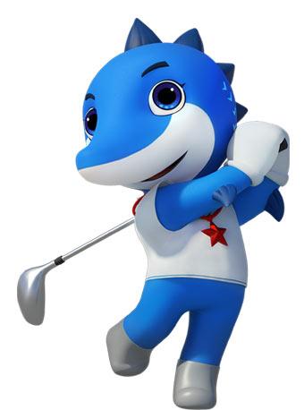 【武汉】第七届世界军人运动会-女子高尔夫球比赛