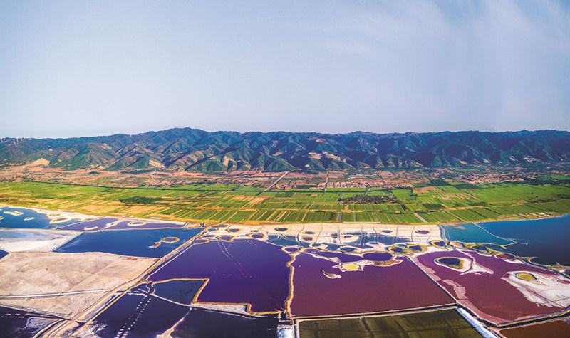 运城盐湖(中国死海)