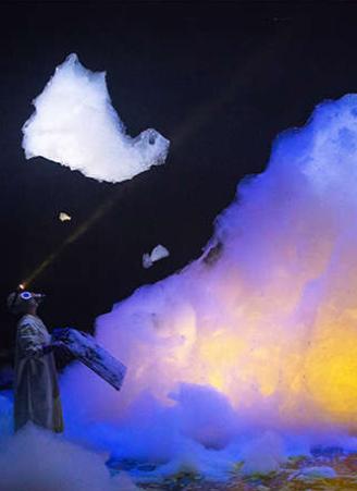 舞台装置剧场《山水赋》广州站