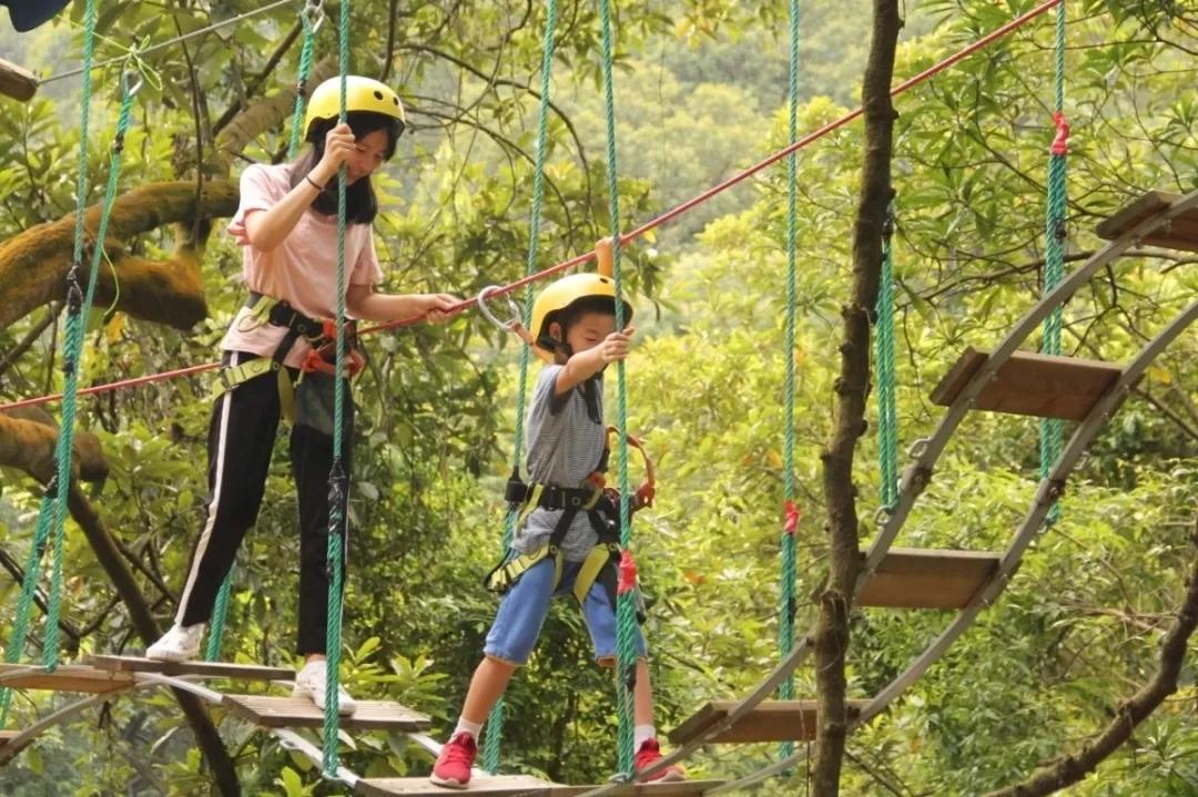 广州飞越丛林探险乐园门票预订,飞越丛林门票团购