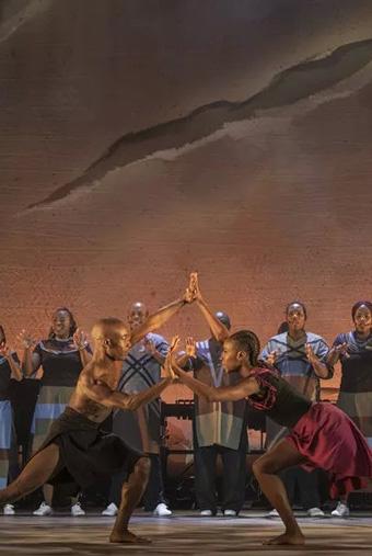 第三届琴台艺术节――非洲祖鲁音乐舞蹈剧《INALA》武汉站