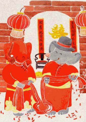 中国首部原创鼓乐音乐剧《老鼠娶亲》太原站