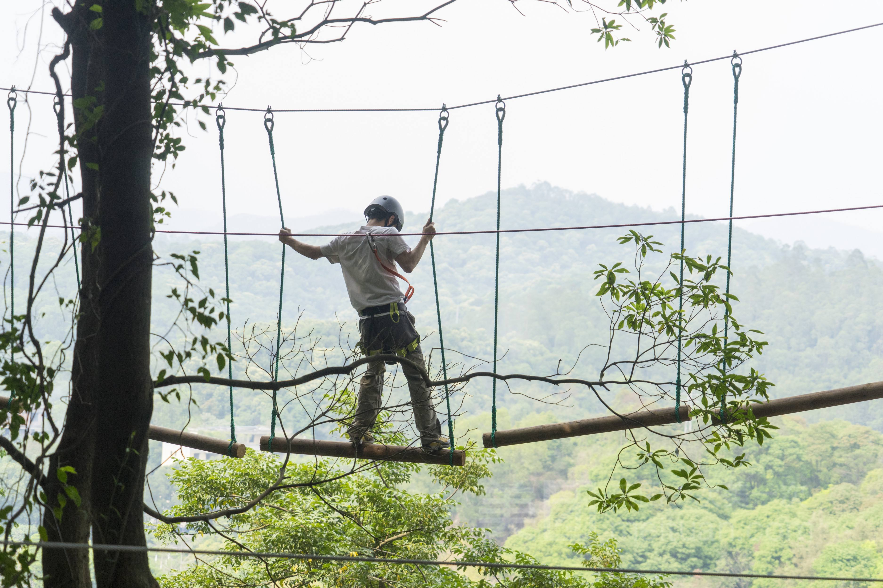 飞越丛林探险乐园攻略,广州飞越丛林探险乐园好玩吗