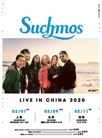 【上海】Suchmos Live in China 2020