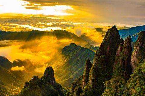 莽山五指峰景区