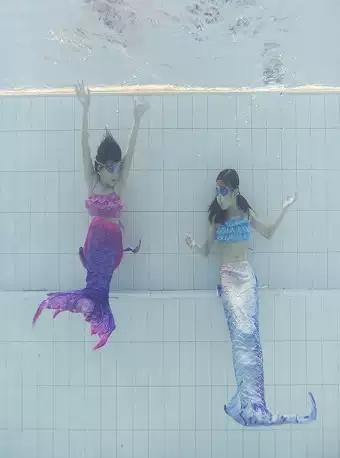 成都儿童美人鱼潜水