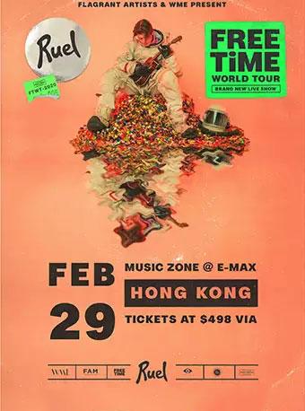 RUEL香港演唱会
