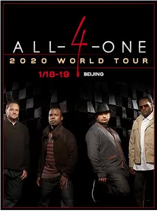 Blue Note Beijing ALL-4-ONE 2020 WORLD TOUR
