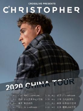 Christopher上海演唱会