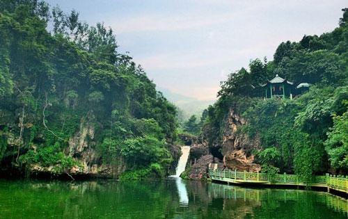 绿林山风景区