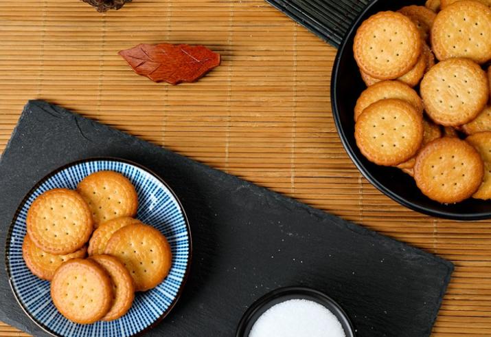 卡慕日式小圆饼干