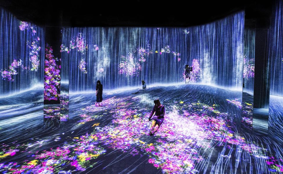 上海�o界美�g�^:teamlab Borderless