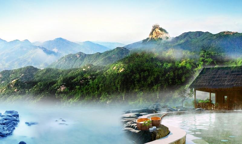 信阳鸡公山依云森林温泉酒店