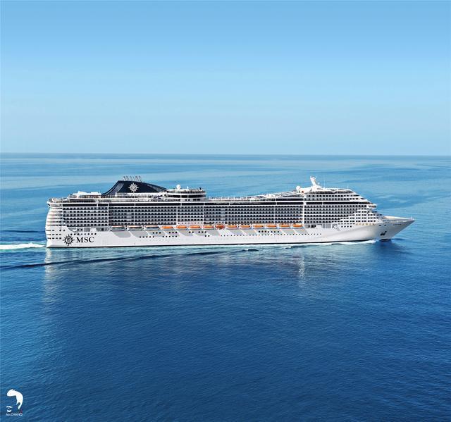 MSC地中海邮轮辉煌号首次挺近华南