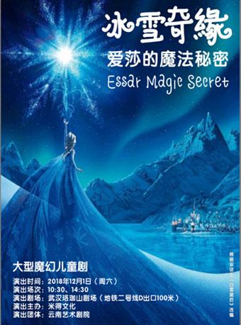 大型魔幻童话剧《冰雪奇缘之爱莎的魔法秘密》武汉站