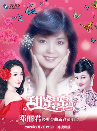 华艺星空・邓丽君金曲新春演唱会《甜蜜蜜》北京站