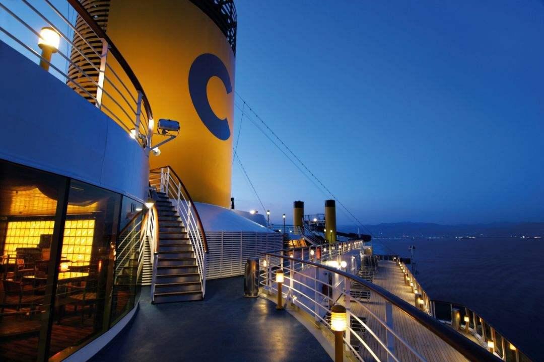 歌诗达大西洋号游轮之旅深圳到菲律宾之旅
