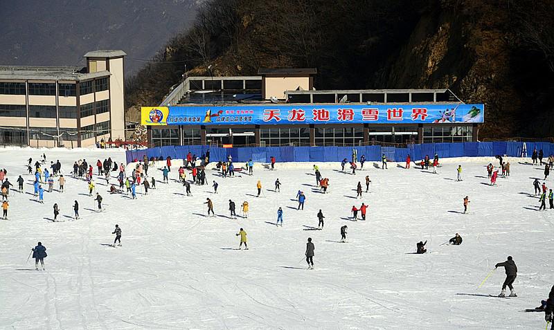 要去尧山天龙池滑雪的N种理由
