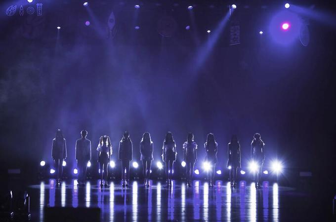 火箭少女101上海演唱会