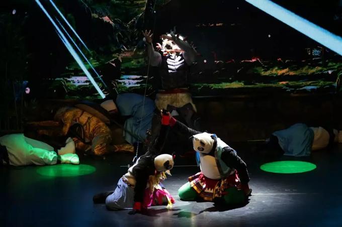 百老汇式儿童剧《熊猫归来》重庆站