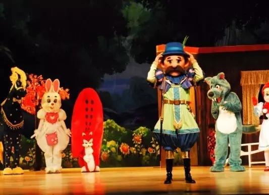 【小橙堡】经典童话人偶剧《小红帽》成都站
