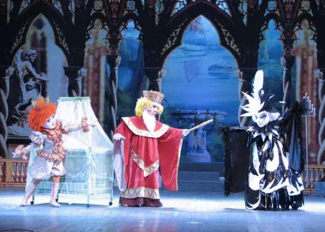 【小橙堡】格林童话经典人偶剧《睡美人》成都站