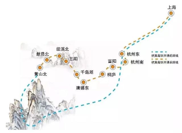 杭黄高铁开通,仅需100多元一个半小时看遍大半个中国