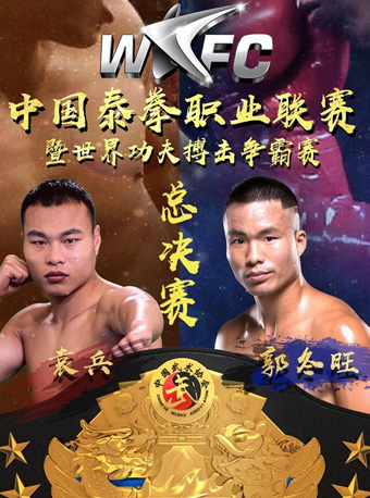 WKFC 中国泰拳职业联赛暨世界功夫搏击争霸赛佛山站