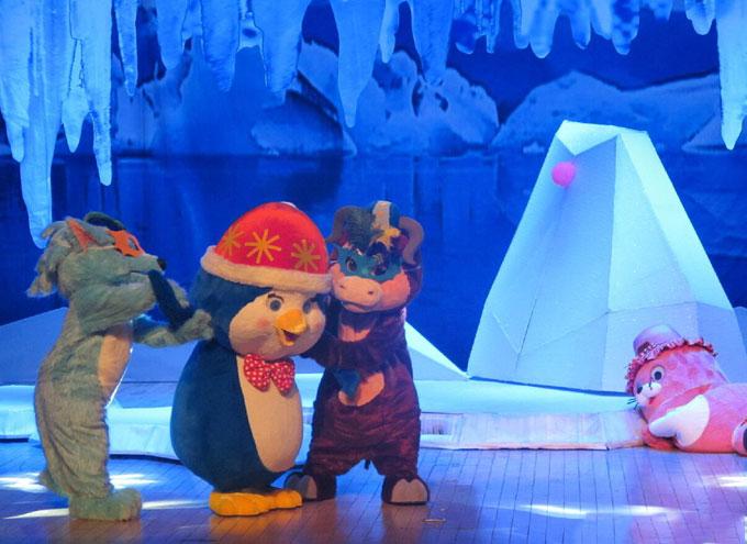 冰雪奇缘亲情舞台剧《企鹅的北极熊爸爸》苏州站